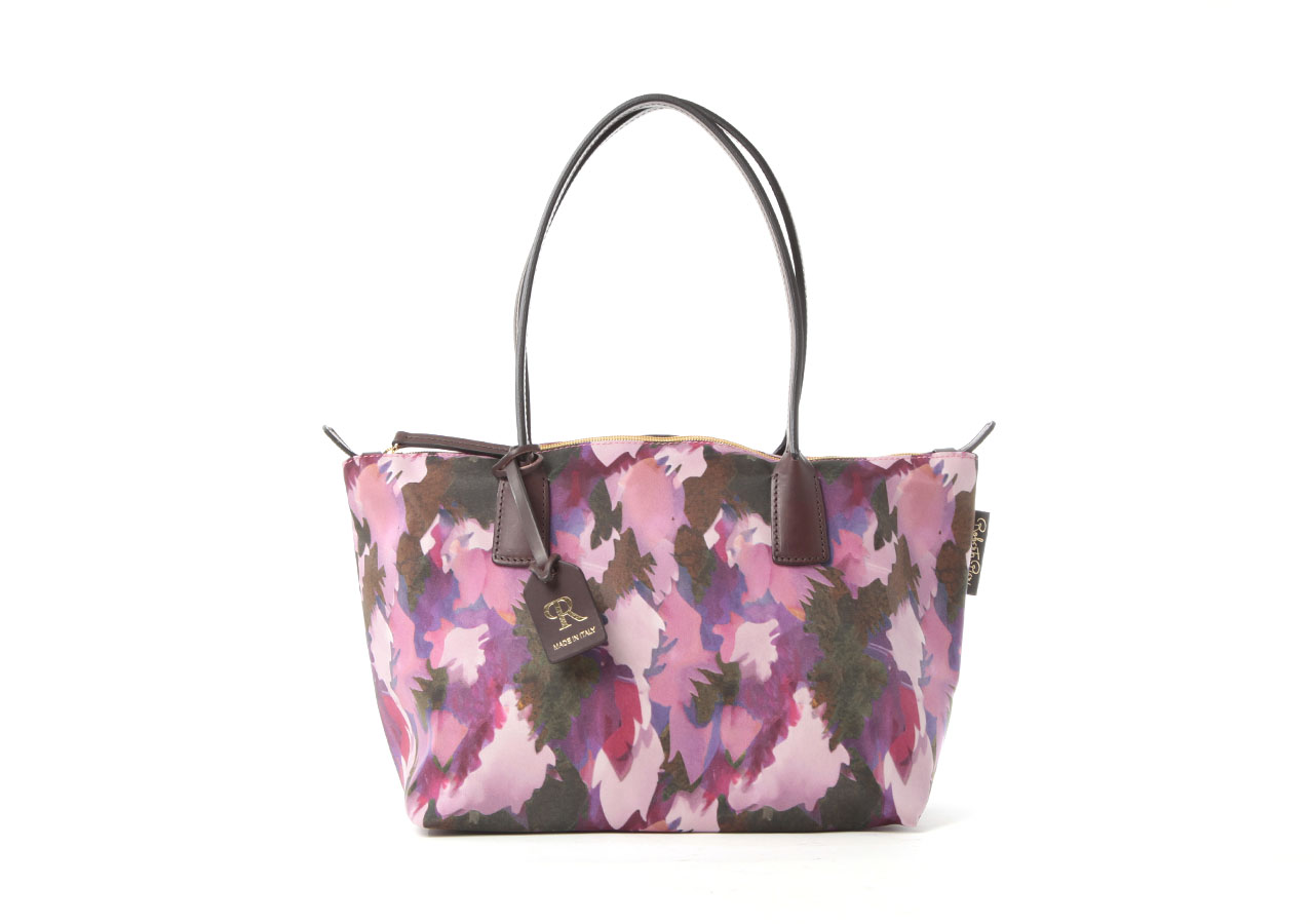 ROBERTINA BOTANICAL SMALL TOTE