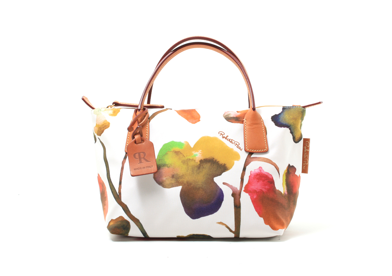 ROBERTINA FLOWER MINI DUFFLE