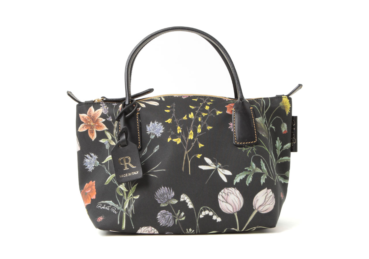ROBERTINA FLOWER NATURE MINI DUFFLE
