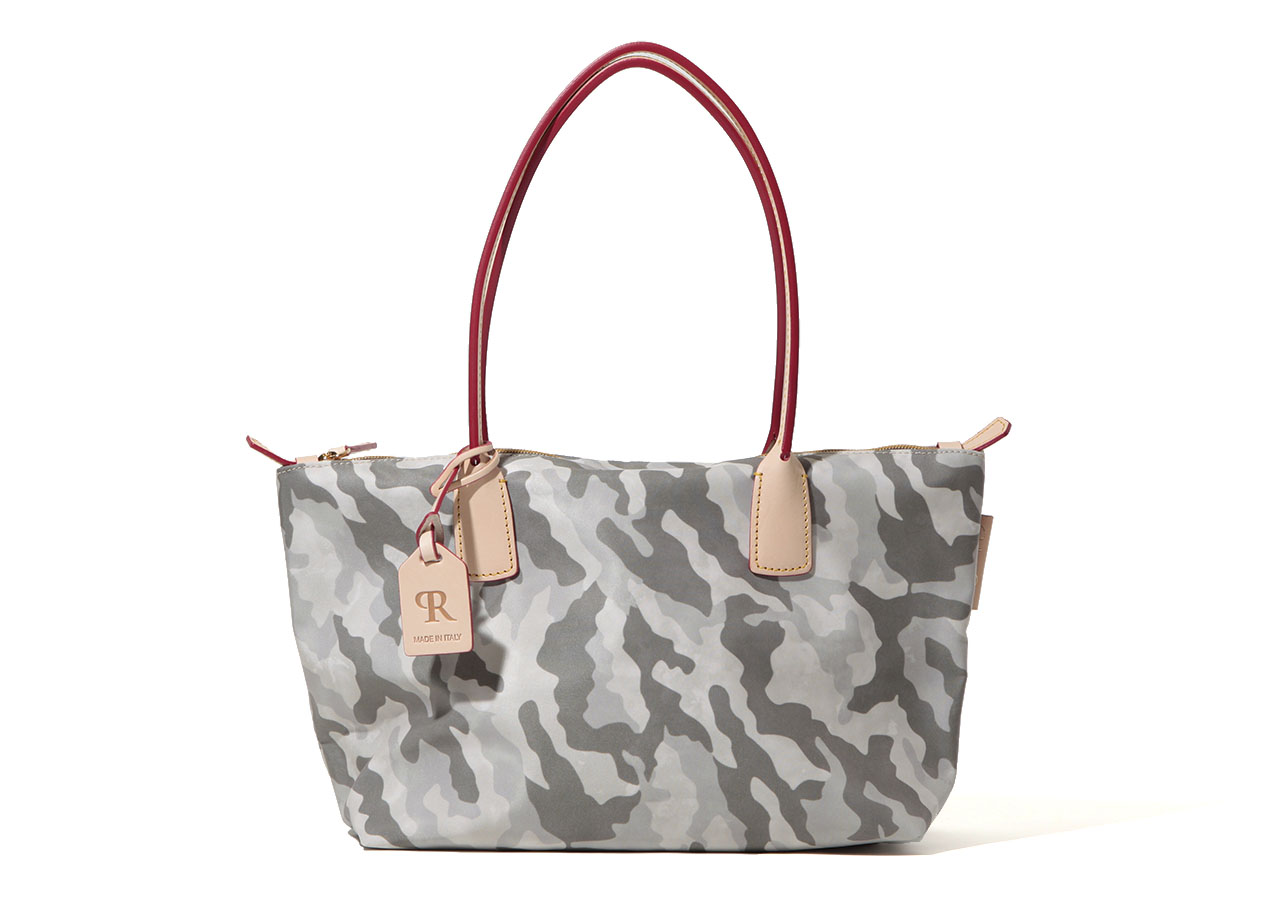 ROBERTINA  FUN MILITARY SMALL TOTE