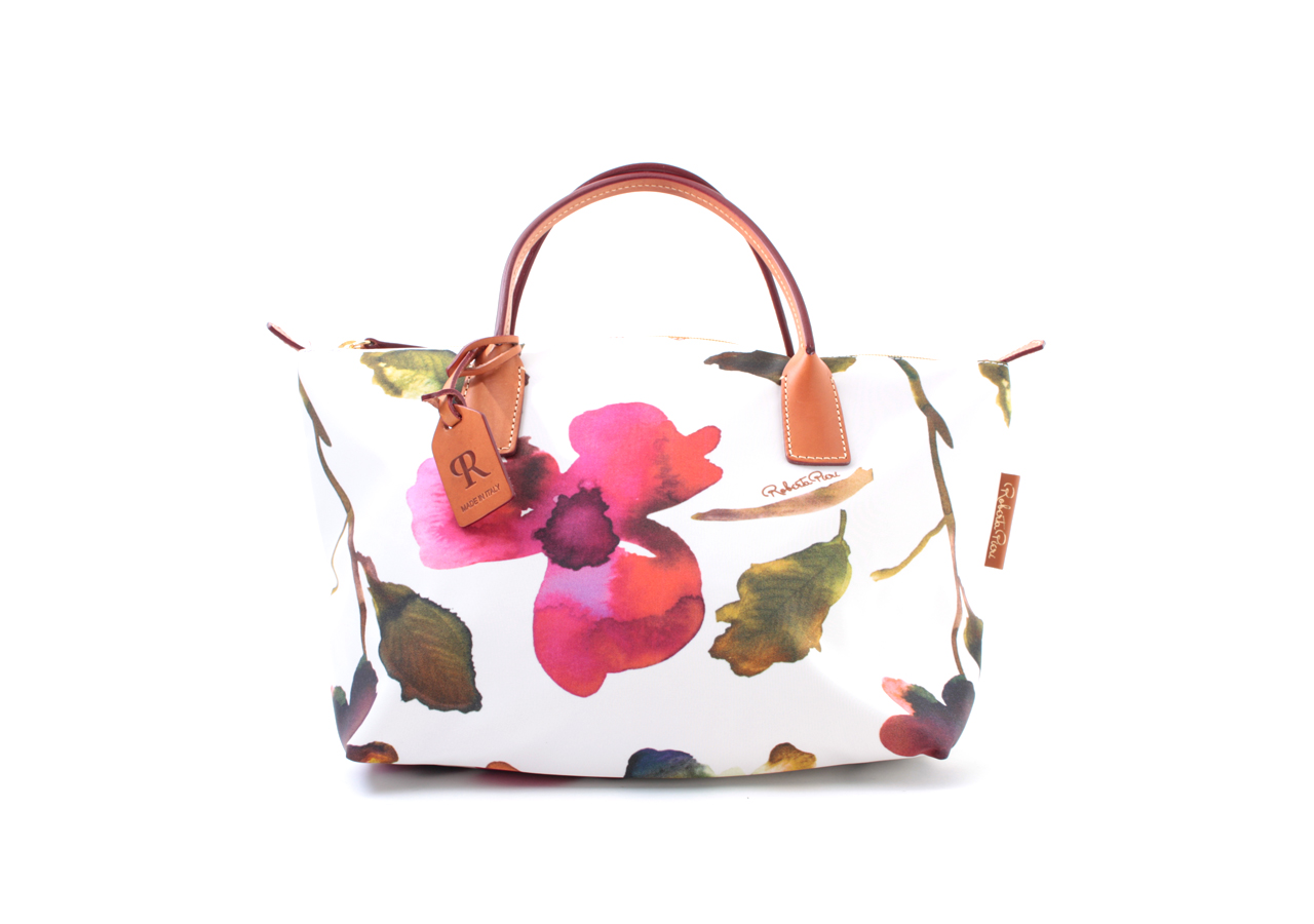 ROBERTINA FLOWER SMALL DUFFLE